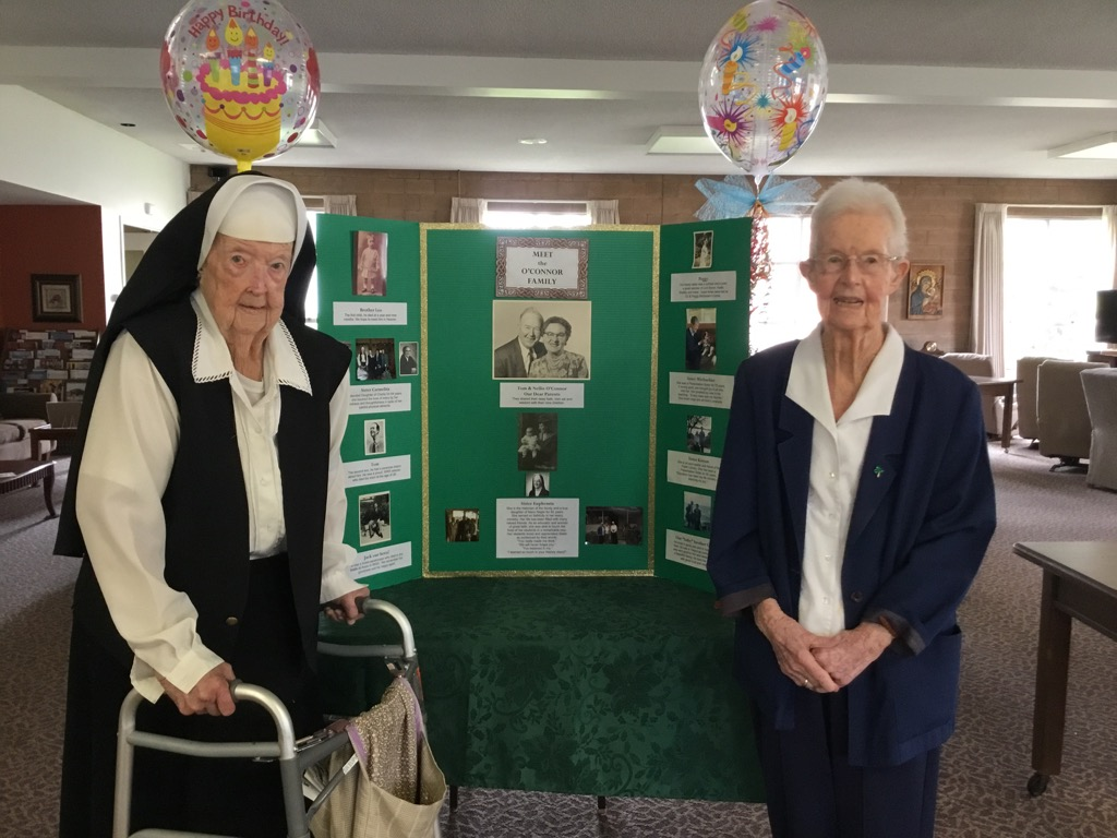 Cheers to 100 Years! Celebrating Sister Euphemia O'Connor's Birthday