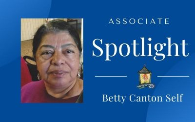 Associates Spotlight: Betty Canton Self